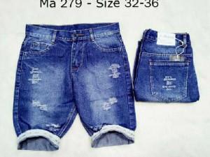 Quần short jean nam mẫu 2 size đại