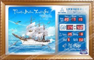 Lịch Vạn Niên - Thuyền Buồm 402