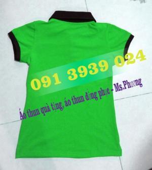 Áo thun giá rẻ, công ty may áo thun, may áo thun đồng phục in thêu logo theo yêu cầu