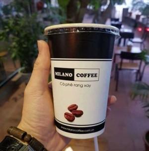Cafe sữa đá Milano Rang xay nguyên chất