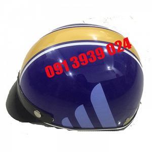 In logo lên mũ bảo hiểm, mu bao hiem quang cao, làm mũ bảo hiểm theo yêu cầu