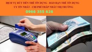 Rút Tiền Thẻ Tín Dụng Visa, Visa Master Phí Cực Thấp Tại Hà Nội