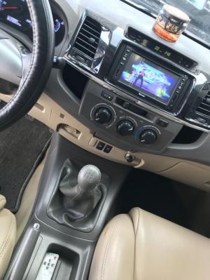 Bán Toyota Fortuner G 2.5MT máy dầu số sàn màu bạc sản xuất cuối 2012 mẫu mới gốc Sài Gòn