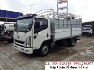 Bán xe tải FAW 7.3 tấn thùng mui bạt /giá cạnh tranh / trả góp lãi suất thấp / bảo hành 2 năm