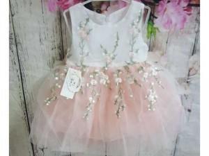 Váy bé gái hồng 8kg-16kg vbg01