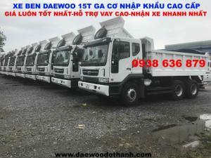 Bán Xe Ben Daewoo 15t Giá Hot Nhất