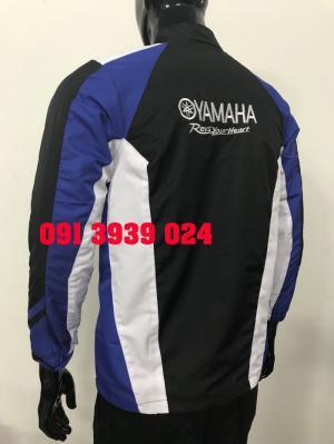 Áo khoác Yamaha xanh cá tính, cung cấp sỉ lẻ áo khoác Yamaha