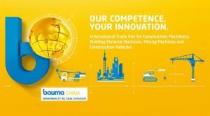 Hội chợ triển lãm lớn nhất Châu Á trong ngành xây dựng BAUMA CHINA 2018
