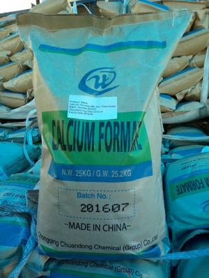 Calcium formate 98% Feed grade dùng trong chăn nuôi, canxi format, bổ sung canxi, axit formic cho tôm
