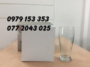 Chuyên cung cấp ly thủy tinh ống BW 5217 giá rẽ in logo