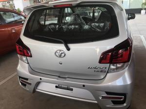 Toyota wigo 1.2 số sàn màu bạc