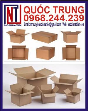 Sản Xuất Thùng Carton Hình Hộp