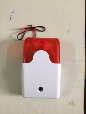 Loa báo động có điều chỉnh âm lượng, kiêm đèn báo hiệu