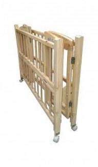 Thanh lí cũi gỗ Goldcat 2 tầng màu gỗ có bánh xe