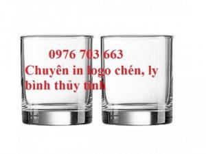 Cung cấp ly thủy tinh giá rẻ, bình thủy tinh in logo