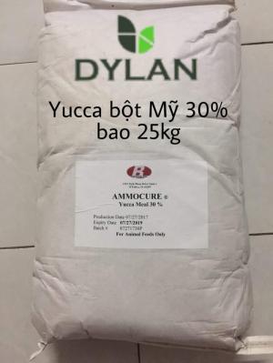 YUCCA BỘT 30% - Hấp thụ khí độc NH3, H2S, ổn định môi trường