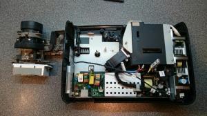 Cách khắc phục máy chiếu Sony DX 100 bị sọc dọc.