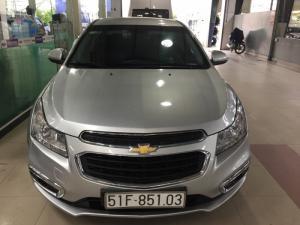 Chervrolet Cruze LT 2016, màu bạc, xe cá nhân, tặng 100% trước bạ