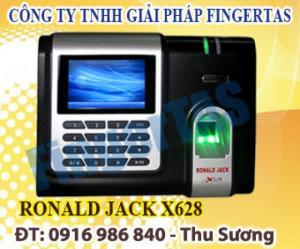 Cung cấp máy chấm công vân tay ronal jack x628-c chất lượng giá rẻ