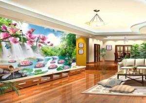 Tranh 4D cao cấp D-House - nâng cấp không gian sống