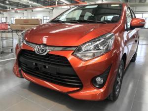 Toyota Wigo Số Sàn Nhập Khẩu Màu Cam, Khuyến Mãi Trả Góp Tại Toyota An Thành Fukushima