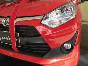 Khuyến Mãi Toyota Wigo Nhập Khẩu Màu Đỏ Số Tự...