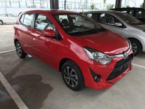 Khuyến Mãi Toyota Wigo Màu Đỏ Số Sàn, Hỗ Trợ...