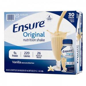 Sữa Ensure Nước Hương Vani Nhập Từ Mỹ