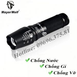 Đèn pin, đèn pin siêu sáng, đèn pin chống nước chính hãng - MayorWolf