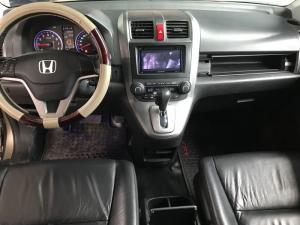 Bán Honda CRV 2.4AT màu vàng cát số tự động sản xuất 2009 biển Sài Gòn