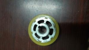 Cục ép cao su của máy hàn mép túi liên tục Fr900, bánh xe cao su máy hàn miệng túi Sf 150