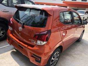 Toyota wigo 1.2at màu cam nhập khẩu