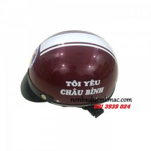 Địa chỉ mũ bảo hiểm uy tín, đặt mũ bảo hiểm công ty, mũ bảo hiểm có in logo theo yêu cầu
