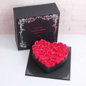 Hộp Hoa Hồng Sáp Trái Tim Love You Forever - MSN1831118