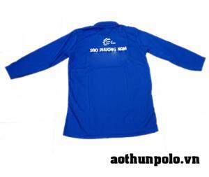 chuyên may áo thun công nhân tay dài với nhiều chất liệu vải như cotton, thun lạnh, thun mè