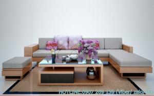 33 mẫu sofa gỗ đẹp, hiện đại nhất năm 2018- 2019