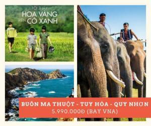 Buôn Mê Thuột - Tuy Hòa - Quy Nhơn