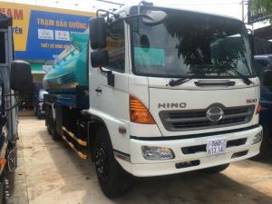 Xe tải Hino bồn xăng dầu 20 khối giá rẻ