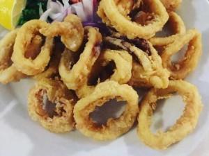 Mực Chiên Giòn - Deep Fried Crispy Squid