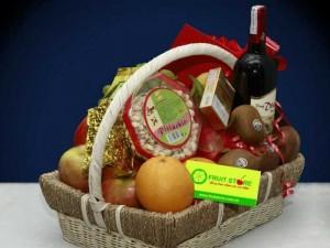 Giỏ trái cây và rượu - FSNK03