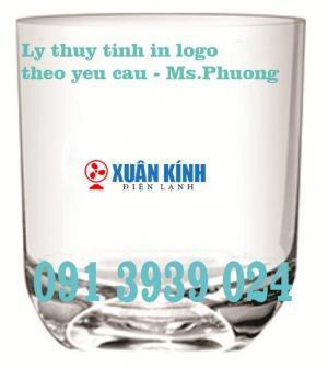 Địa chỉ bán ly thủy tinh in logo giá rẻ tại tphcm