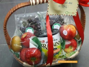 Giỏ trái cây giáng sinh  - FSNK27