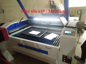 Máy cắt vải laser, máy cắt laser 1390 cắt quảng cáo giá rẻ tại Quy Nhơn