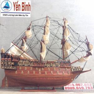 Thuyền cổ đại gỗ hương