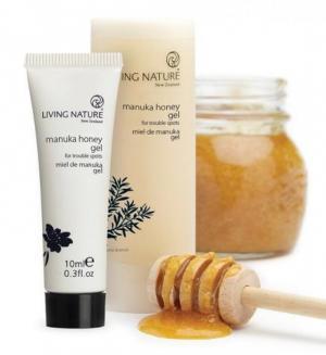 Kem Trị Mụn Mật Ong Manuka Honey Gel - Living Nature