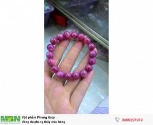Vòng tay phong thủy đá ruby là sản phẩm cao cấp của Daquyvietnam, được chế tác thủ công từ đá quý ruby Ấn Độ tự nhiên