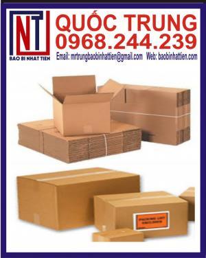 Nhà máy sản xuất thùng carton 11600 theo yêu cầu