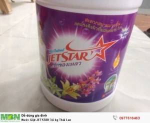 Nước Giặt JETSTAR 3,6 kg Thái Lan