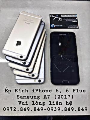 Ép Kính iPhone - Samsung - Hoàng Kiều Mobile