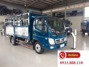Xe tải thùng rộng đi thành phố